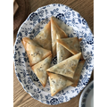 ...and her homemade samosas