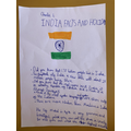 Great work on your Indian Project Charle