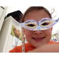 Gorgeous Venetian style mask