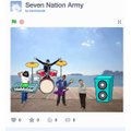 "Scroll down to listen to Ben's ""Seven Nation Army'"