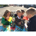 Making mini composters