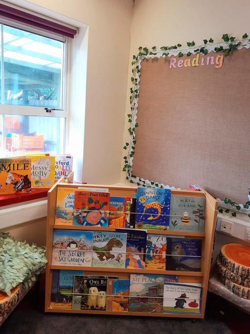 The cosy book corner