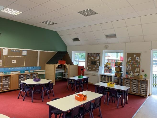 Our new classroom