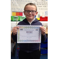 Masen has a fatastic attitude to learning and is giving 100% in his writing!