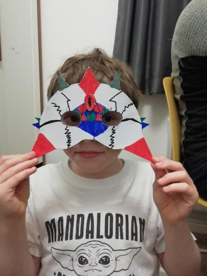 Brilliant mask design Henry J.