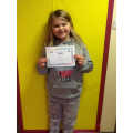 Bethany continues to read and test frequently on Accelerated Reader even as a Free Reader