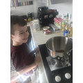 Some tasty treats made by Harry