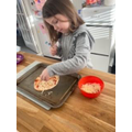 Great pizza Lucy!