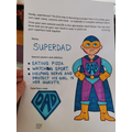 Even Lola's dad is doing his home learning