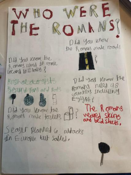 Zak's fantastic poster on the Romans.