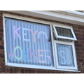 Jacob has made a lovely message for key workers.
