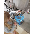 Science experiment messiness