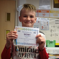 Dylan is a true team player. His team won the orienteering.He then went to help his peers.