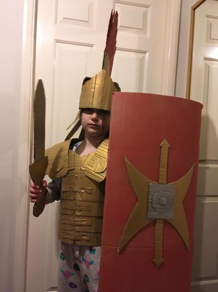 Fantastic Roman armour Holly brilliant additional topic work!