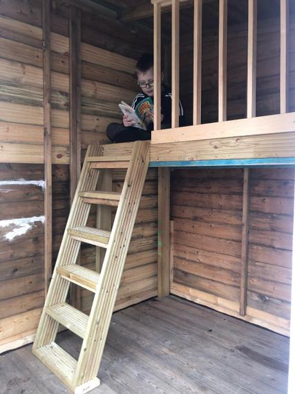 Zak has been reading in an interesting place on World Book Day!