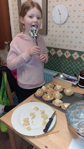 Xanthe has been busy baking!