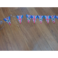Hollie made some bunting for VE day.