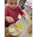 Lucy has done some baking