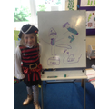 Fantastic pirate drawing x