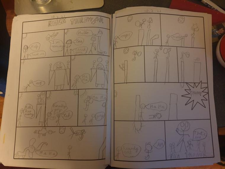 Fantastic comic Henry M.