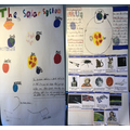 AS solar system work for Cubs badge