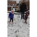 Grea fun in the snow!