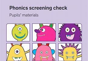 Phonics screening