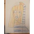 Holly's brilliant Picasso artwork.