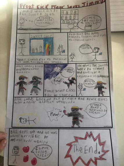 Fantastic comic story Zak.