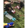 Using tools to take things apart