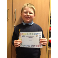 Bradley has done some amazing writing and has been working hard to learn his spellings.