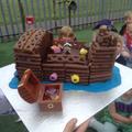 Pirate cake - yummy!