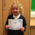 Taylor has been working really hard in Maths and Phonics and making us all very proud.