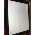 Jacob's fabulous Gurdwara drawing