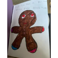Lily's gingerbread man