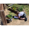 A bit of outdoor learning - searching for clues about France.