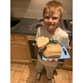Homework - Archie made bread with inspiration from the bakery on Pudding Lane.