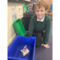 Designing boats and rafts to escape a tsunami!