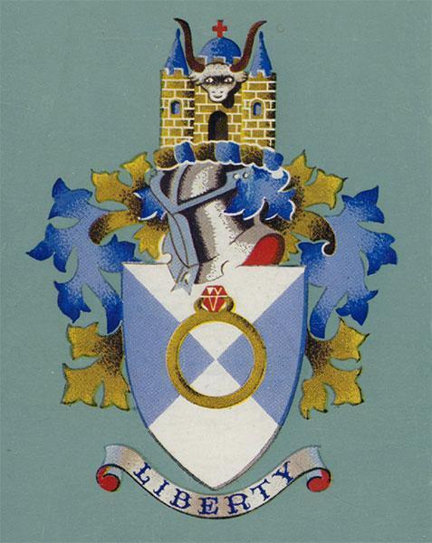 Havering Coat of Arms - the LA heraldic achievement and symbol of authority