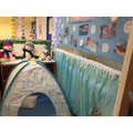 Inside the Arctic role-play area.