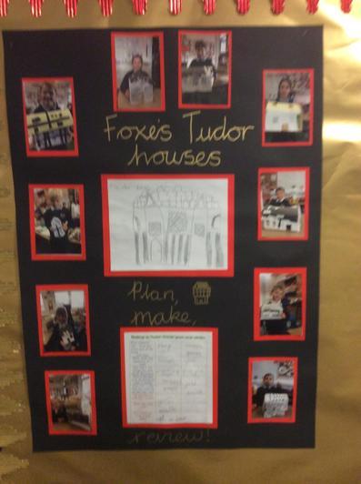 Year 2 Tudor houses