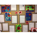 Peregrine's poppy collages