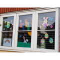 Easter Window Decoration Winner- Alannah H