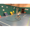Indoor Athletics Sprint Finish