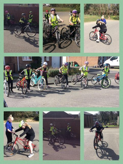 We earned our Bikeability badges!