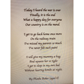 What an emotional, heart-felt poem!