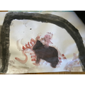 Cave Art inspired by Cave Baby
