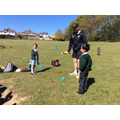 Jonny coaching our newest cricket stars!