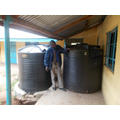 Water tank No 2 arrives