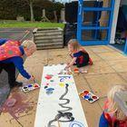 Reception- lines and shapes